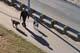 PEOPLE WALKING ON MEEWASIN TRAIL, SASKATOON