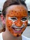 GIRL WITH FACE PAINTED, SASKATOON