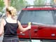 FEMALE WASHING FORD EXPLORER, SASKATOON
