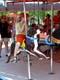 CHILDREN ON MERRY-GO-ROUND, SASKATOON