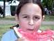 GIRL EATING WATERMELON, SASKATOON