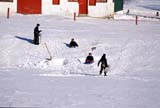 PEO ACT OUT  ON     2103221DCHILDREN TOBOGGANING IN FRONT OF BARNCROSSHILL                           01..© CLARENCE W. NORRIS        ALL RIGHTS RESERVEDACTIVITIES;CENTRAL;CHILDREN;CROSSHILL;CULTURE;FARMING;FUN;MENNONITE;MENNONITE_COUNTRY;ON_;ONTARIO;OUTDOORS;PEOPLE;RURAL;SNOW;TOBAGGANING;WINTERLONE PINE PHOTO                (306) 683-0889