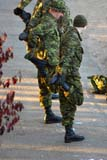 PEO ACT OUT  SK  WDS06H2685DX  VTRESERVISTS DOING MORNING EXCERCISESSASKATOON                       09© WAYNE SHIELS                ALL RIGHTS RESERVEDACTIVITIES;AUTUMN;MILITARY;OUTDOORS;PEOPLE;PLAINS;PRAIRIES;RESERVISTS;SASKATCHEWAN;SASKATOON;SK_;SOLDIERS;STRETCHES;TRAINING;UNIFORMS;VTLLONE PINE PHOTO              (306) 683-0889