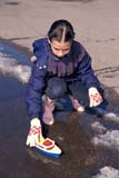 PEO ACT SPR  SK     1901232D  VT  MRGIRL PLAYING WITH PLASTIC BOAT IN SPRINGSASKATOON                       04                   © CLARENCE W. NORRIS      ALL RIGHTS RESERVEDACTIVITIES;BOATS;CHILDREN;GIRL;MELTWATER;MR_;OUTDOORS;PEOPLE;PLAINS;PRAIRIES;RECREATION;SASKATCHEWAN;SASKATOON;SK_;SPRING;TOYS;VTLLONE PINE PHOTO              (306) 683-0889
