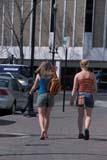 PEO ACT SPR  SK  CWN0203029D  VTTWO WOMEN WALKING DOWN SIDEWALKSASKATOON                       05                   © CLARENCE W. NORRIS      ALL RIGHTS RESERVEDACTIVITIES;FEMALE;OUTDOORS;PEOPLE;PLAINS;PRAIRIES;SASKATCHEWAN;SASKATOON;SIDEWALKS;SK_;SPRING;STREETS;URBAN;VTL;WALKINGLONE PINE PHOTO              (306) 683-0889