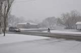 PEO ACT SPR  SK  WDS09C0433DXVAN AND BICYCLIST ON STREET DURING APRIL SNOWSTORMWARMAN                            04© WAYNE SHIELS                ALL RIGHTS RESERVEDACTIVITIES;AUTOS;BICYCLING;BIKING;BLIZZARDS;OUTDOORS;PEOPLE;PLAINS;PRAIRIES;ROADS;SAFETY;SASKATCHEWAN;SK_;SNOW;SNOWSTORM;SPRING;STREETS;TRANSPORTATION;URBAN;WARMAN;WEATHERLONE PINE PHOTO              (306) 683-0889