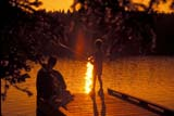 PEO ACT SUM  AB   WS21321D  FATHER AND SON FISHING OFF DOCK, LOCK LEVENCYPRESS HILLS PROV PK    07© WAYNE SHIELS                ALL RIGHTS RESERVEDAB_;ACTIVITIES;ALBERTA;BOY;CHILDREN;CYPRESS_HILLS_PP;DOCKS;FAMILIES;FISHING;MALE;OUTDOORS;PEOPLE;PLAINS;PLATEAU;PP_;PRAIRIES;SCENES;SHARING;SILHOUETTE;SK_;SUMMER;SUNSETS;WATERLONE PINE PHOTO              (306) 683-0889