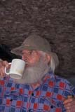 PEO ACT SUM  ON  BMM1000410D  VTPROSPECTOR DRINKING COFFEENORTH BAY                        ..                   © BEV MCMULLEN               ALL RIGHTS RESERVEDACTIVITIES;BEARDS;BEVERAGES;CENTRAL;MALE;NORTH_BAY;OCCUPATIONS;ON_;ONTARIO;OUTDOORS;PEOPLE;PROSPECTORS;SHIELD;SUMMER;VTLLONE PINE PHOTO              (306) 683-0889