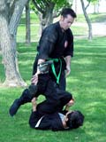PEO ACT SUM  SK   CWN02T0192D  NMR  VT   MARTIAL ARTS PRACTICE IN PARKSASKATOON                            06..© CLARENCE W. NORRIS           ALL RIGHTS RESERVEDACTIVITIES;MALE;MARTIAL_ARTS;OUTDOORS;PARKS;PEOPLE;PLAINS;PRAIRIES;RECREATION;SASKATCHEWAN;SASKATOON;SK_;SPORTS;SUMMER;UNIFORMS;VTLLONE PINE PHOTO                  (306) 683-0889