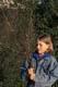 GIRL GATHERING PUSSY WILLOW BRANCHES, SASKATOON