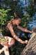 GIRL CLIMBING TREE, SASKATOON
