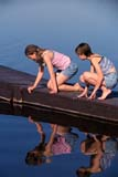 PEO YOU MIS  SK     1904005D  VT  MRGIRLS ON DOCK LOOKING AT OBJECTS IN THE WATERPIKE LAKE PROV PK             06                   © CLARENCE W. NORRIS      ALL RIGHTS RESERVEDACTIVITIES;DOCKS;FEMALE;FRIENDS;FUN;JENNIE;LAKES;MR_;OUTDOORS;PARKS;PEOPLE;PIKE_LAKE_PP;PLAINS;PP_;PRAIRIES;RECREATION;REFLECTIONS;SASKATCHEWAN;SK_;STUDENTS;SUMMER;TEENS;VTL;WATERLONE PINE PHOTO              (306) 683-0889