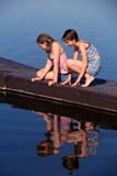PEO YOU MIS  SK     1904006D  VT  MRGIRLS ON DOCK LOOKING AT OBJECTS IN THE WATERPIKE LAKE PROV PK             06                   © CLARENCE W. NORRIS      ALL RIGHTS RESERVEDACTIVITIES;DOCKS;FEMALE;FRIENDS;FUN;JENNIE;LAKES;MR_;OUTDOORS;PARKS;PEOPLE;PIKE_LAKE_PP;PLAINS;PP_;PRAIRIES;RECREATION;REFLECTIONS;SASKATCHEWAN;SK_;STUDENTS;SUMMER;TEENS;VTL;WATERLONE PINE PHOTO              (306) 683-0889