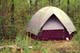 DOME TENT AT SPRING CANOE CAMP, CAMP SEONEE, PIKE LAKE