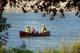 FAMILY CANOEING ON SOUTH SASKATCHEWAN RIVER, SASKATOON