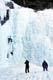 ICE CLIMBING AT JOHNSTON CANYON, BANFF NATIONAL PARK