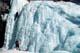 PEOPLE CLIMBING ICE FALLS, JOHNSTON CANYON, BANFF NATIONAL PARK