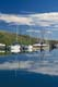 DOCK AND SAILBOATS AT HARBOUR, ELBOW HARBOUR, LAKE DIEFENBAKER