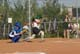 BATTER AND CATCHER, LADIES BALL TEAM, SASKATOON