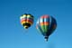 HOT AIR BALLOONS IN FLIGHT, BALLOON CHASE, SASKATOON