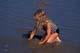 GIRL AT THE BEACH, SASKATOON