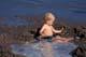 CHILD AT THE BEACH, SASKATOON