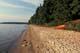 SUNLIT BEACH, WASKESIU LAKE, PRINCE ALBERT NATIONAL PARK