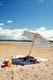 UMBRELLA AND SUMMER BEACH, AQUEDEO BEACH