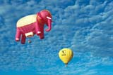 REC BAL HOT  ON  LDL1000205D             PINK ELEPHANT AND YELLOW HOT AIR BALLOONSBARRIE                                07/..© CLARENCE W. NORRIS      ALL RIGHTS RESERVEDACTIVITIES;AIR;BALLOONS;BARRIE;CENTRAL;ELEPHANTS;HOT;HOT_AIR_BALLOONS;ON_;ONTARIO;OUTDOORS;RECREATION;SKY;SUMMERLONE PINE PHOTO              (306) 683-0889