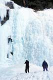 REC CLI ICE  AB  BRH1901003D  NMR  VTICE CLIMBING AT JOHNSTON CANYONBANFF NATIONAL PARK        02/24© BLAKE R. HYDE                 ALL RIGHTS RESERVEDAB_;ACTIVITIES;ADVENTURE;ALBERTA;ALPINE;BANFF_NP;BULLETINS;CORDILLERA;ELEMENTS;ICE;ICE_CLIMBING;JOHNSTON_CANYON;NP_;OUTDOORS;PEOPLE;RECREATION;SAFETY;SCALE;TEAMWORK;VTL;WINTERLONE PINE PHOTO              (306) 683-0889