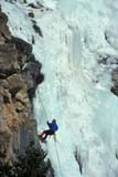 REC CLI ICE  AB  REH1000995D  NMR  VTICE CLIMBERWATERTON NAT. PARK        02/..© ROYCE HOPKINS              ALL RIGHTS RESERVEDAB_;ACTIVITIES;ALBERTA;ALPINE;BULLETINS;CORDILLERA;DANGER;ELEMENTS;ICE;ICE_CLIMBING;MALE;NP_;OUTDOORS;PARKS;PEOPLE;RECREATION;ROCKS;SAFETY;SCALE;SPORTS;VTL;WATERTON_NP;WINTERLONE PINE PHOTO              (306) 683-0889