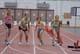 YOUNG GIRLS AT STARTING LINE, SASKATOON