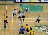 REC VOL MIS  SK  WDS06A8182DXHUSKIES MALE VOLLEYBALL PLAYERSUNIVERISTY OF SASKATCHEWANSASKATOON                       ../..© WAYNE SHIELS                ALL RIGHTS RESERVEDACTIVITIES;HUSKIES;INDOORS;MALE;MOTION;NUMBERS;PEOPLE;PLAINS;PRAIRIES;RECREATION;SASKATCHEWAN;SASKATOON;SK_;SPORTS;SUMMER;TEAMS;UNIFORMS;UNIVERSITIES;UNIVERSITY_OF_SASKATCHEWAN;VOLLEYBALLLONE PINE PHOTO              (306) 683-0889