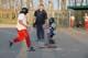 CHILDREN PLAYING SOFTBALL, WARMAN