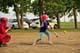 NINE YEAR OLD CHILDREN PLAYING SOFTBALL, WARMAN