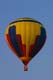 HOT AIR BALLOON IN FLIGHT, SUSSEX BALLOON FESTIVAL, SUSSEX