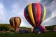 HOT AIR BALLOONS ON GROUND, SUSSEX BALLOON FESTIVAL, SUSSEX