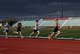 RACING, SASKATOON HIGH SCHOOL TRACK AND FIELD MEET, GRIFFITHS STADIUM, SASKATOON