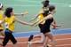 TEENS RUNNING RELAYS, FIELD HOUSE, SASKATOON