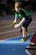 ELEMENTARY SCHOOL CHILDREN RUNNING RELAYS, FIELD HOUSE, SASKATOON