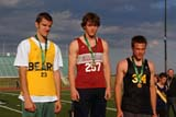 REC TRA MIS  SK  WDS08A5462DXTEENS WITH MEDALS, SASKATOON HIGH SCHOOL TRACK AND FIELD MEETGRIFFITHS STADIUMSASKATOON                     05© WAYNE SHIELS             ALL RIGHTS RESERVEDACTIVITIES;GRIFFITHS_STADIUM;MALE;MEDALS;OUTDOORS;PEOPLE;PLAINS;PRAIRIES;SASKATCHEWAN;SASKATOON;SK_;SPORTS;SPRING;TEENS;TRACK_AND_FIELDLONE PINE PHOTO              (306) 683-0889