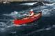 SOLO CANOEIST ON WATER, CHURCHILL RIVER, LAC LA RONGE PROVINCIAL PARK
