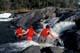 BODY SURFING UPPER FALLS, NISTOWIAK FALLS, LAC LA RONGE PROVINCIAL PARK