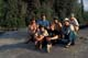 CANOEISTS GROUP PHOTO, RAPID RIVER, LAC LA RONGE PROVINCIAL PARK