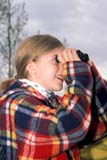 REC BIR MIS  SK     1602459D  MR  VT  GIRL USING BINOCULARS TO LOCATE BIRDSLAST MOUNTAIN LAKE          06/..© CLARENCE W. NORRIS       ALL RIGHTS RESERVEDACTIVITIES;BINOCULARS;BIRDING;BIRD_WATCHING;BULLETINS;CHILDREN;GIRL;JENNIE;LAST_MOUNTAIN_LAKE;MR_;OUTDOORS;PEOPLE;PLAINS;PRAIRIES;RECREATION;SASKATCHEWAN;SK_;SUMMER;VTL LONE PINE PHOTO               (306) 683-0889