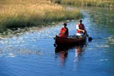 REC CAN MIS  SK     1512234D  MR   COUPLE CANOEING ON CREEKNEAR STANLEY MISSIONLAC LA RONGE PROV. PK.    09/09© CLARENCE W. NORRIS      ALL RIGHTS RESERVEDACTIVITIES;AUTUMN;BOREAL;CANOEING;CANOES;CO_ED;COUPLE;CREEKS;LAC_LA_RONGE_PP;LIFEJACKETS;MR_;OUTDOORS;PARKLAND;PARKS;PEOPLE;PP_;RECREATION;SAFETY;SASKATCHEWAN;SHIELD;SK_;STANLEY_MISSION;WATER LONE PINE PHOTO              (306) 683-0889