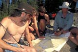 REC CAN MIS  SK     1512924D  MR CANOEISTS LEARNING MAP SKILLSLAC LA RONGE PROV. PK.    09/10© CLARENCE W. NORRIS      ALL RIGHTS RESERVEDACTIVITIES;AUTUMN;BOREAL;CANOEING;CANOES;EDUCATION;GROUPS;LAC_LA_RONGE_PP;MAPS;MR_;ORIENTEERING;OUTDOORS;PARKLAND;PARKS;PEOPLE;PP_;RECREATION;SASKATCHEWAN;SHIELD;SK_  LONE PINE PHOTO              (306) 683-0889