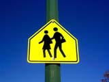 SIG MIS MIS  SK  CWN02A062D                       CHILDREN CROSSING SCHOOL ZONE SIGNSASKATOON                           0420© CLARENCE W NORRIS           ALL RIGHTS RESERVEDCHILDREN;CROSSING;EDUCATION;GEOMETRY;ROAD;SAFETY;SASKATCHEWAN;SASKATOON;SCHOOLS;SIGNS;SK_;SPRING;ZONESLONE PINE PHOTO                   (306) 683-0889