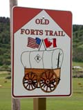 SIG MIS MIS  SK  CWN02D0444D  VTOLD FORTS TRAIL SIGN CYPRESS HILLS                         07/03© CLARENCE W. NORRIS           ALL RIGHTS RESERVEDCYPRESS_HILLS;HISTORIC;OLD_FORTS_TRAIL;GEOMETRY;PLAINS;PLATEAU;PRAIRIES;SASKATCHEWAN;SIGNS;SK_;SUMMER;TRAILS;VTLLONE PINE PHOTO                  (306) 683-0889
