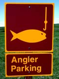 SIG MIS MIS  SK  CWN02D0612D     ANGLER PARKING SIGNEASTEND                                  07/02© CLARENCE W.  NORRIS          ALL RIGHTS RESERVEDANGLER_PARKING;EASTEND;FISHING;GEOMETRY;PLAINS;PRAIRIES;SASKATCHEWAN;SIGNS;SK_;SUMMER;VTLLONE PINE PHOTO                  (306) 683-0889